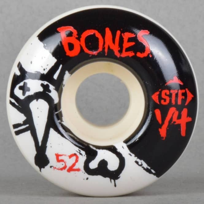 Bones Wheels Standard STF V4 Skateboard Wheels 52mm