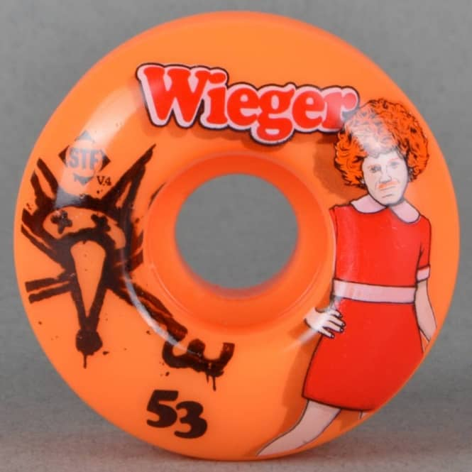 Bones Wheels Wieger Annie STF V4 STF Skateboard Wheels 53mm