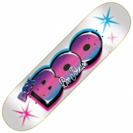 Boo Johnson Airbrush Skateboard Deck 8.25