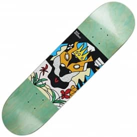 Boserio Lion King (Green Stain) Skateboard Deck 8.125