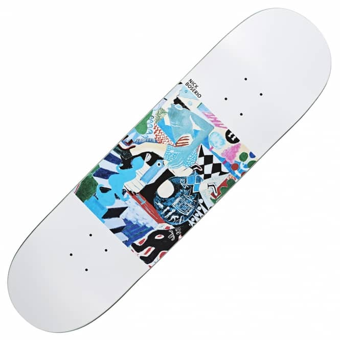 Polar Skateboards Boserio Running Skateboard Deck 8.25