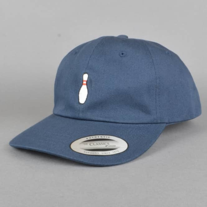 The Quiet Life Bowling Pin Dad Cap - Navy