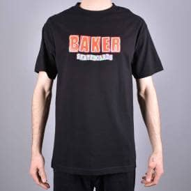 df7e84eab4e1a Brand Logo Infared Skate T-Shirt - Black