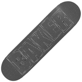 Brand Logo Optical Skateboard Deck 8.125