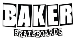 Baker Skateboards Baker Brand Logo Red/White Skateboard Deck 8.0''