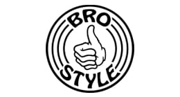 Bro Style Stay Chill Skate T-Shirt - Black