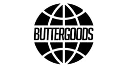 Butter Goods Scan Worldwide Logo Skate T-Shirt - Black