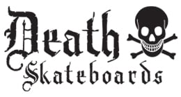 Death Skateboards Death I Love Death Deck 8.0