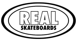 Real Skateboards Busenitz Spliced (Full Shape) Skateboard Deck 8.25
