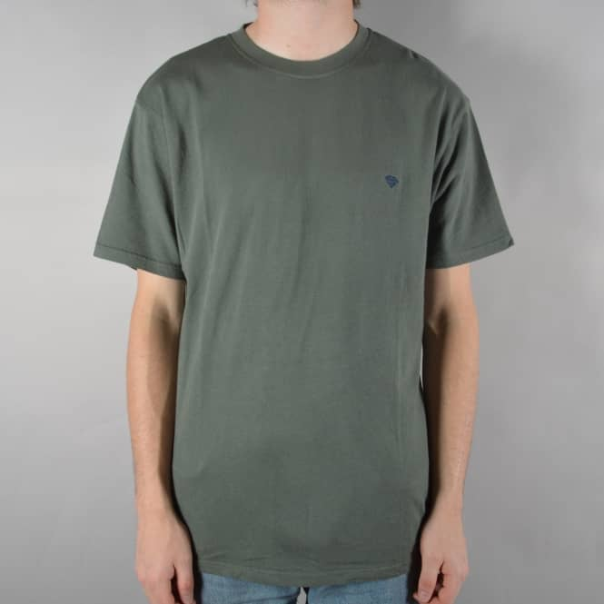 Diamond Supply Co. Brilliant Chest Embroidered T-Shirt - Green