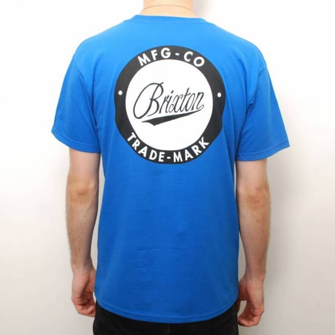 Brixton Brixton Alan Skate T-Shirt - Royal