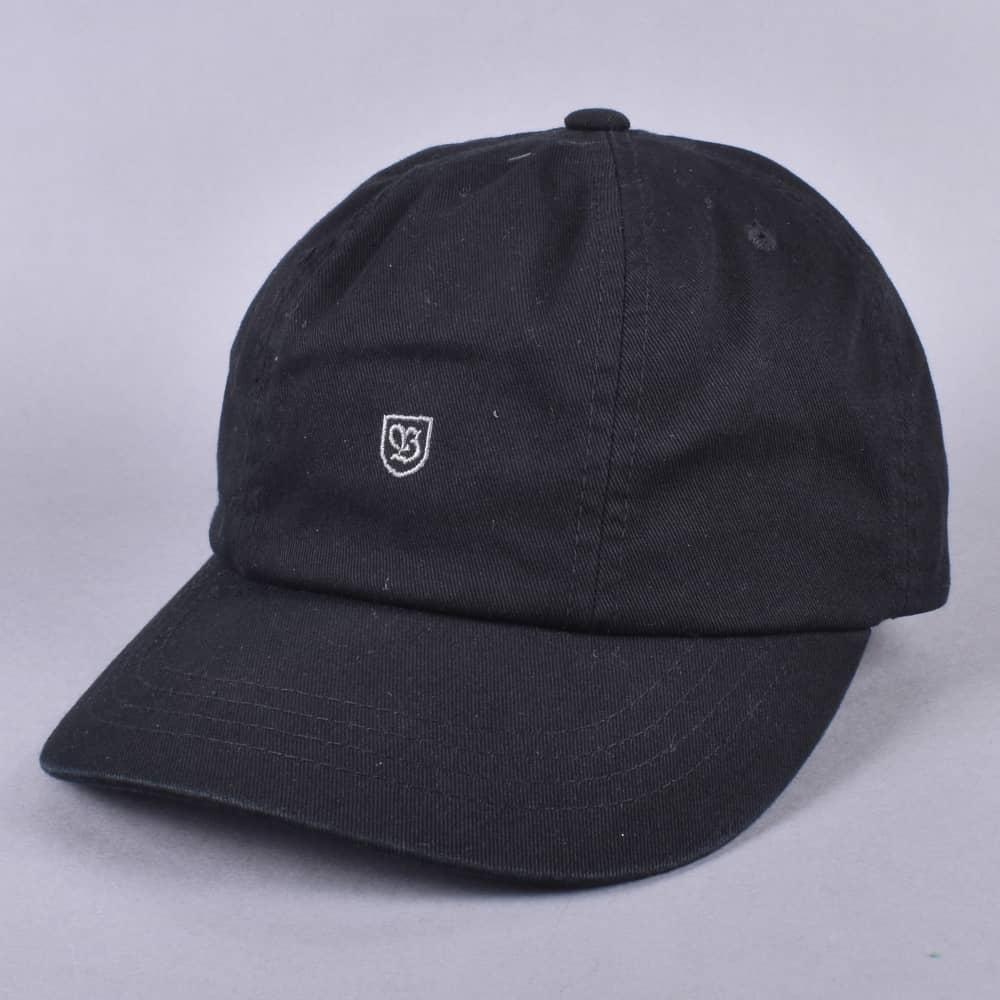 Brixton B-Shield Strapback Cap - Black - SKATE CLOTHING from Native ... 58315e1b69f