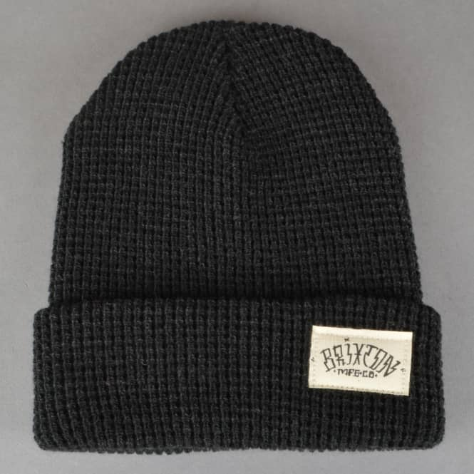 Brixton Borrego Beanie - Washed Black