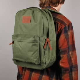 Brixton Stray Backpack - Dark Olive