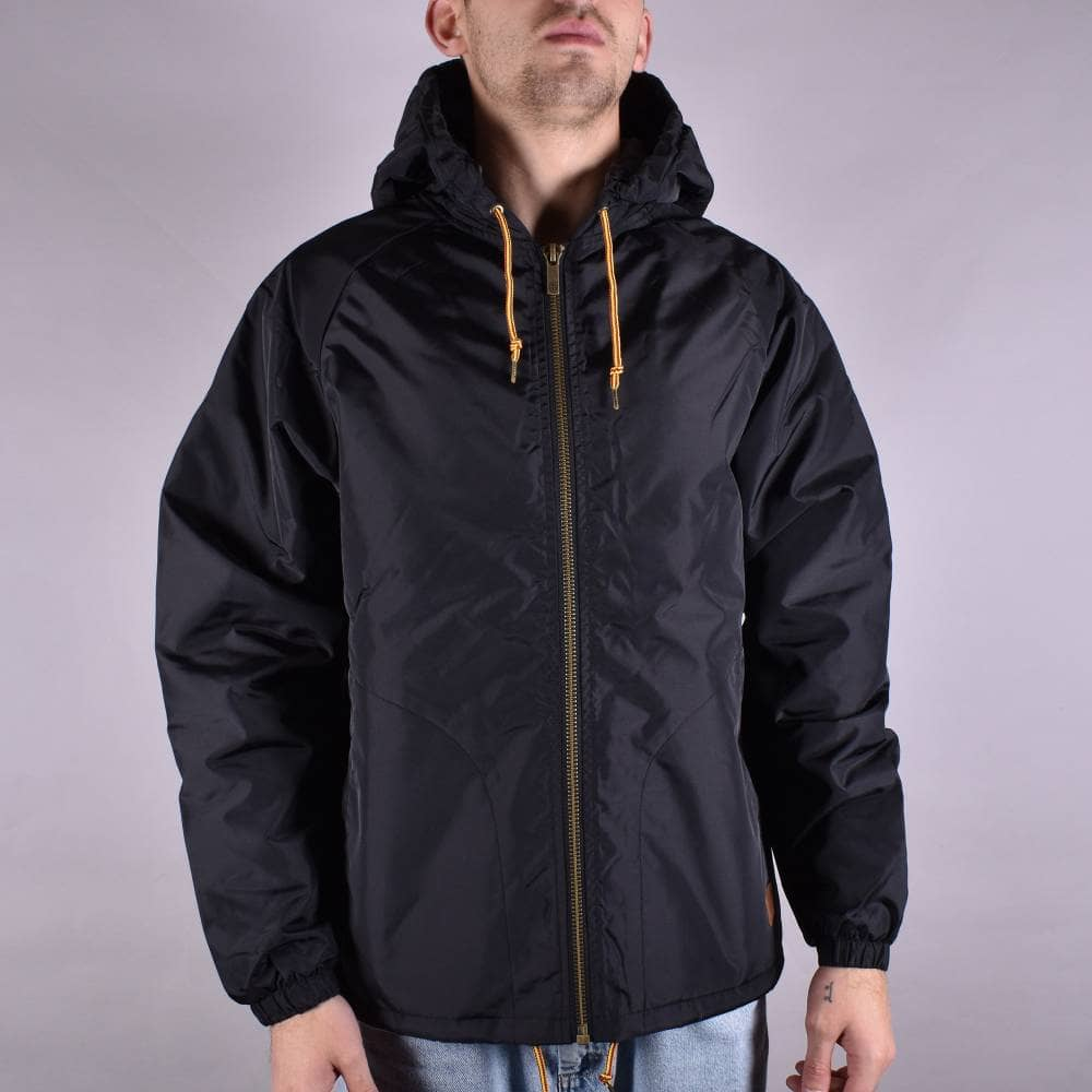Brixton Claxton Sherpa Jacket - Black - SKATE CLOTHING from Native ... 7580a93ea08