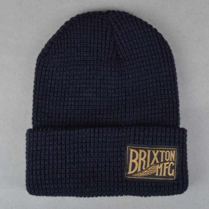 Brixton Coventry Fold Up Beanie - Navy - SKATE CLOTHING from Native ... 7e44c033ca1d