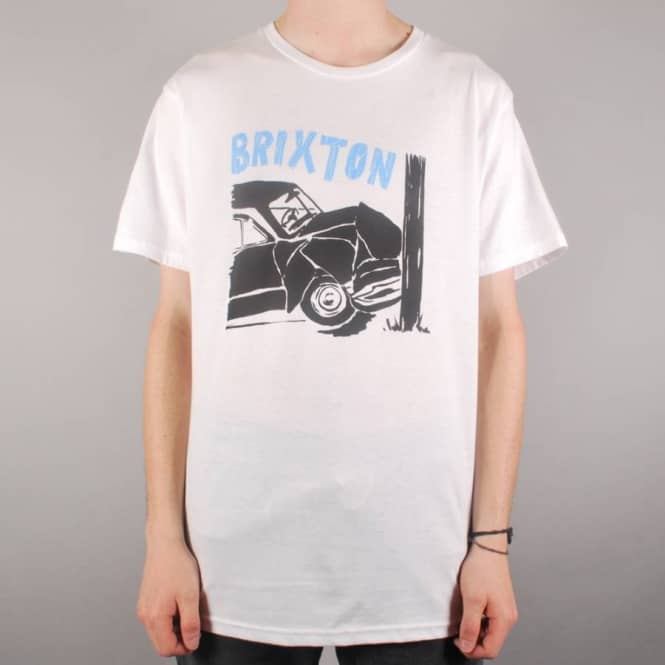 Brixton Crash Premium T-Shirt - White