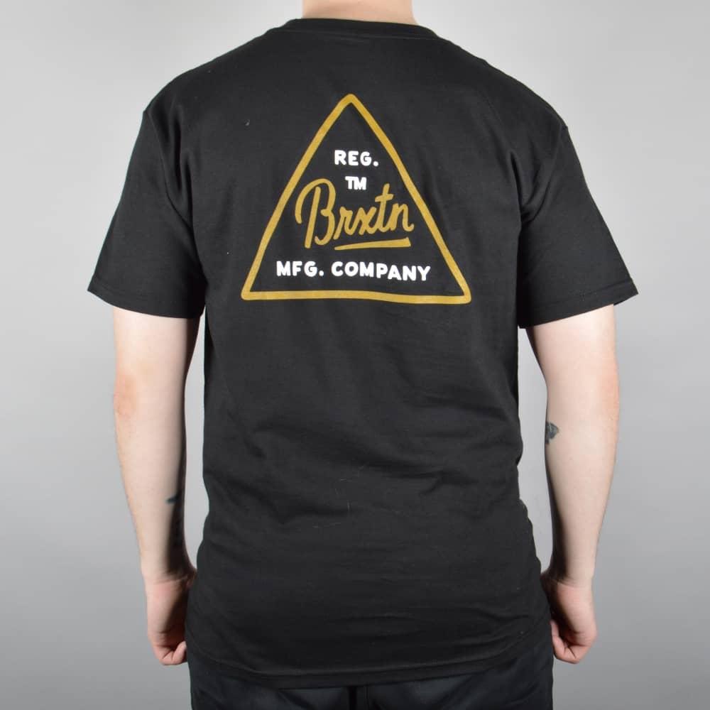 69f25f9f8e4b Brixton Cue Skate T-Shirt - Black - SKATE CLOTHING from Native Skate ...