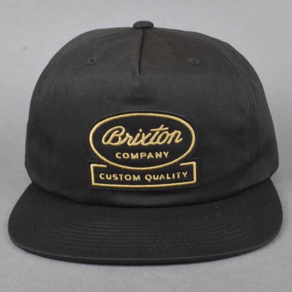 6b65c451 Brixton Dale HP Snapback Cap - Black - SKATE CLOTHING from Native ...
