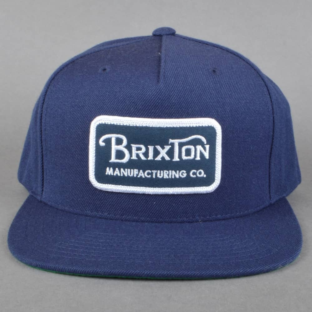 a191e808814 release date brixton jolt navy patch grey snapback hat 87ded 3c90b   official store grade snapback cap navy white ccdef 766dc