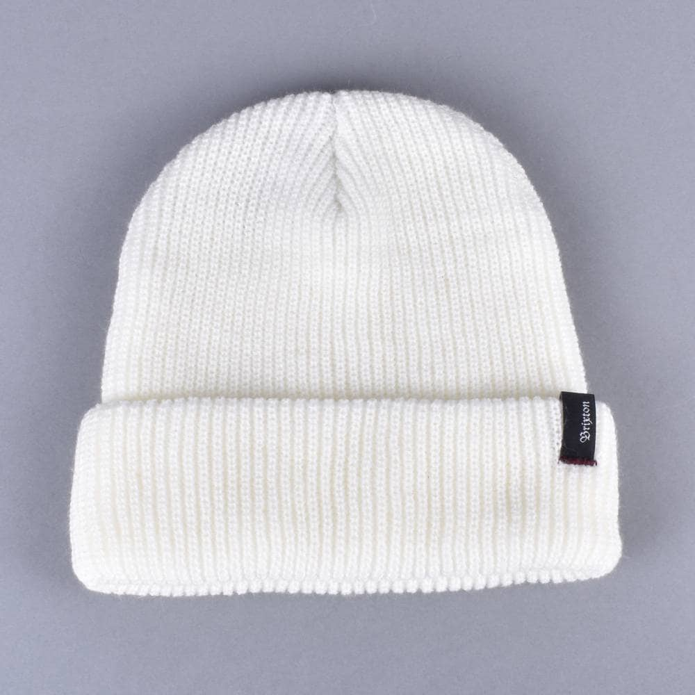 Brixton Heist Beanie - Off White - SKATE CLOTHING from Native Skate ... d659a9322a27