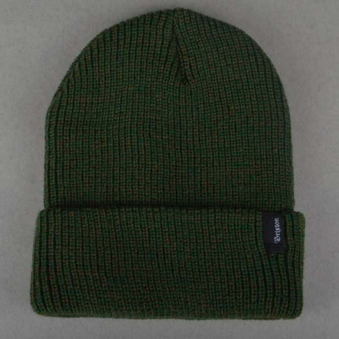 Brixton Heist Beanie - Olive Green - SKATE CLOTHING from Native ... e6445db098d6