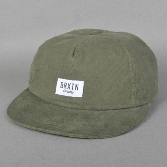 Brixton Hoover Strapback Cap - Green - SKATE CLOTHING from Native ... 0602a48a350