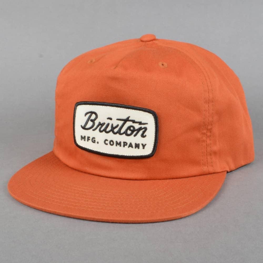 5b2f47f3829 Brixton Jolt HP Snapback Cap - Burnt Orange - SKATE CLOTHING from ...