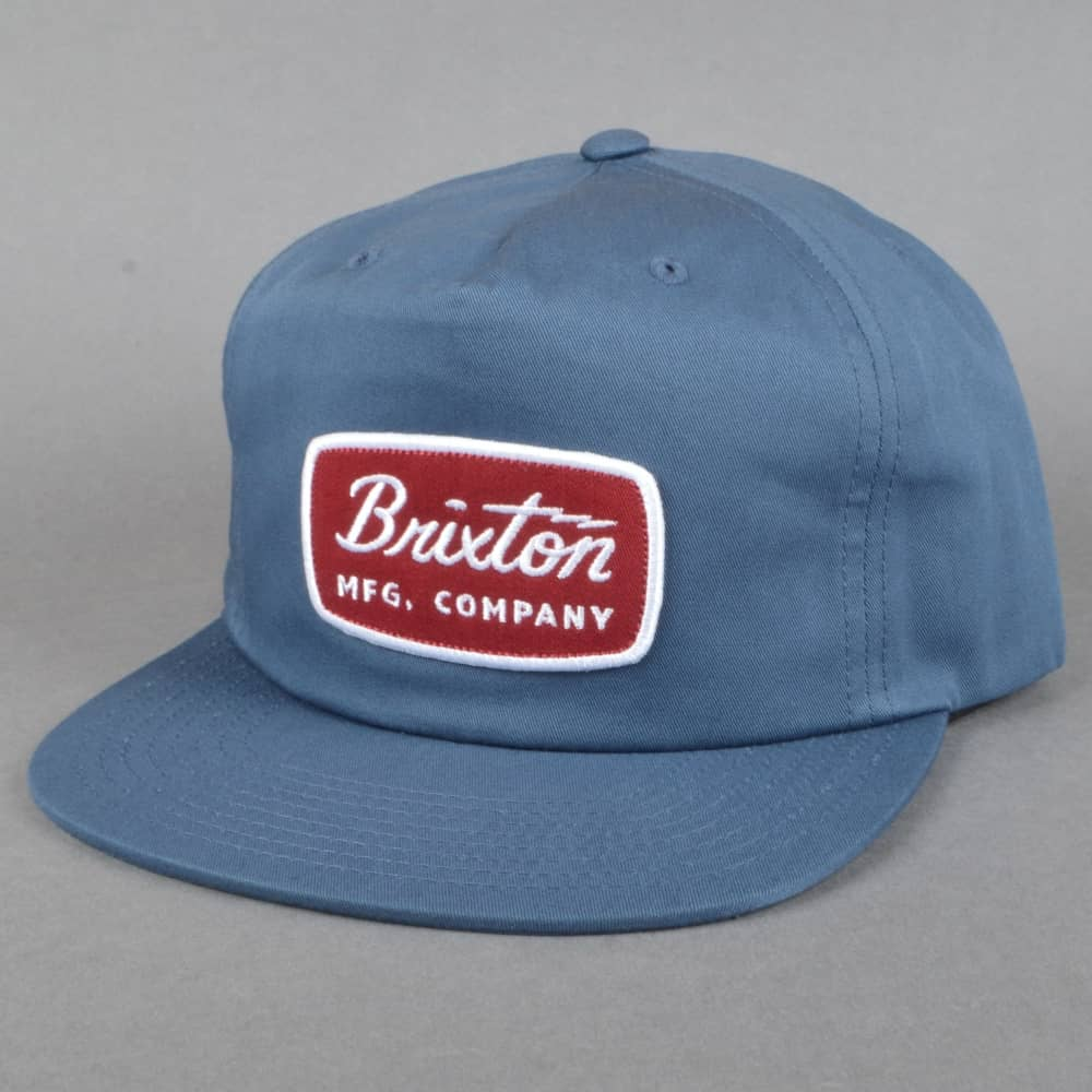 Brixton Jolt HP Snapback Cap - Washed Navy - SKATE CLOTHING from ... 2351ea66140f