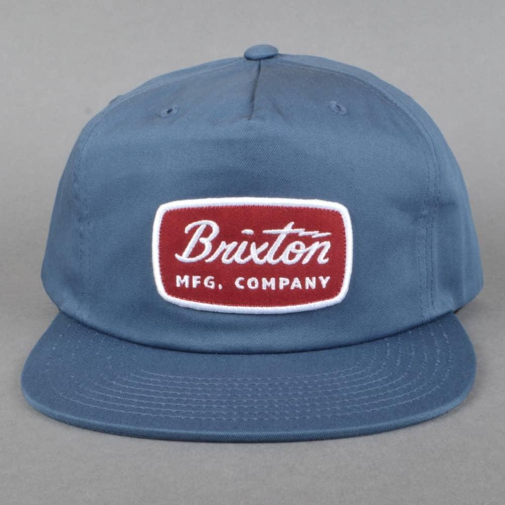 66f92f82738 Brixton Jolt HP Snapback Cap - Washed Navy - SKATE CLOTHING from ...