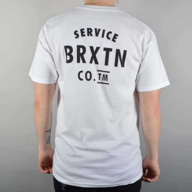 Brixton Lead T-Shirt - White