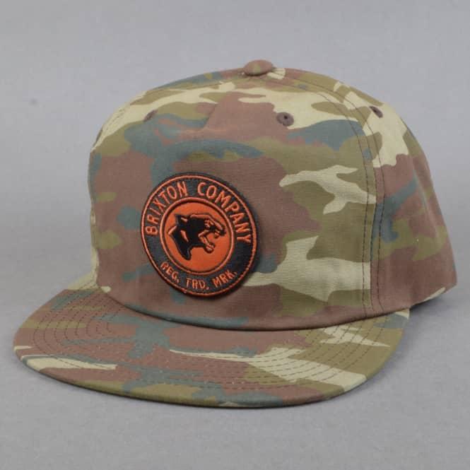 deabaa2188b7c Brixton Legion HP Snapback Cap - Camo - SKATE CLOTHING from Native ...