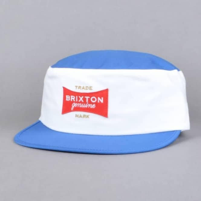 Brixton Mario Painters Cap - White/Royal