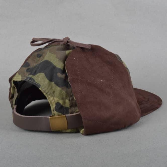 Brixton Miller Ear Flap Cap - Camo - Caps from Native Skate Store UK 8a0081f4e95