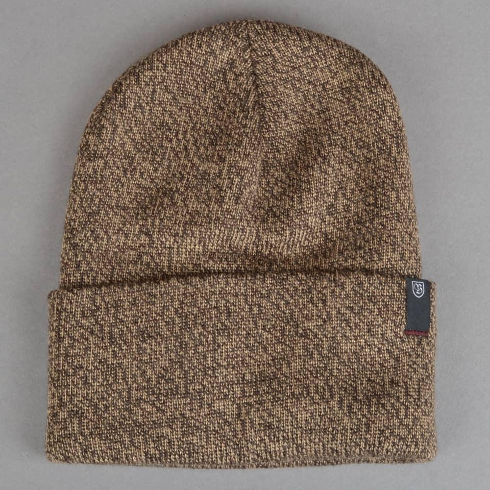 890e63a7fd6aa Brixton Morley Watch Cap Beanie - Brown Tan - SKATE CLOTHING from ...