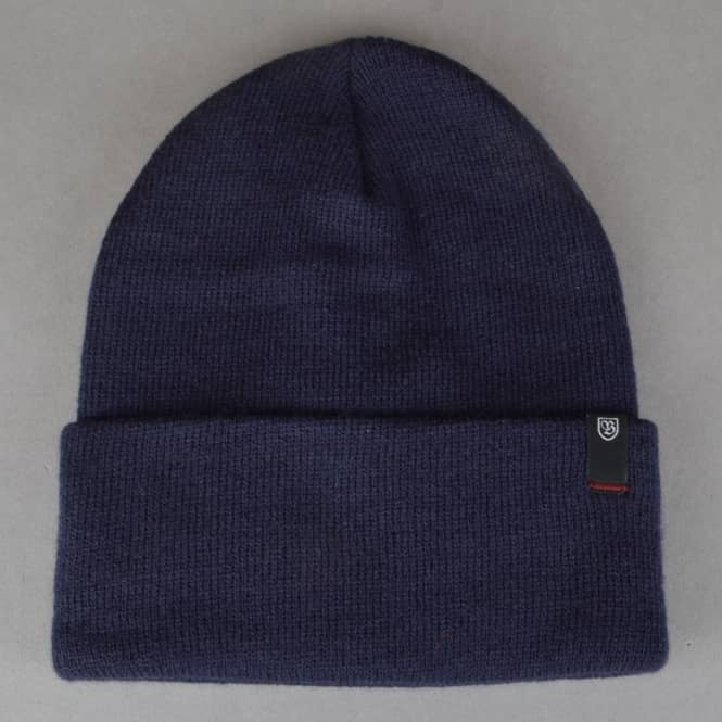 Brixton Morley Watch Cap Beanie - Dark Navy