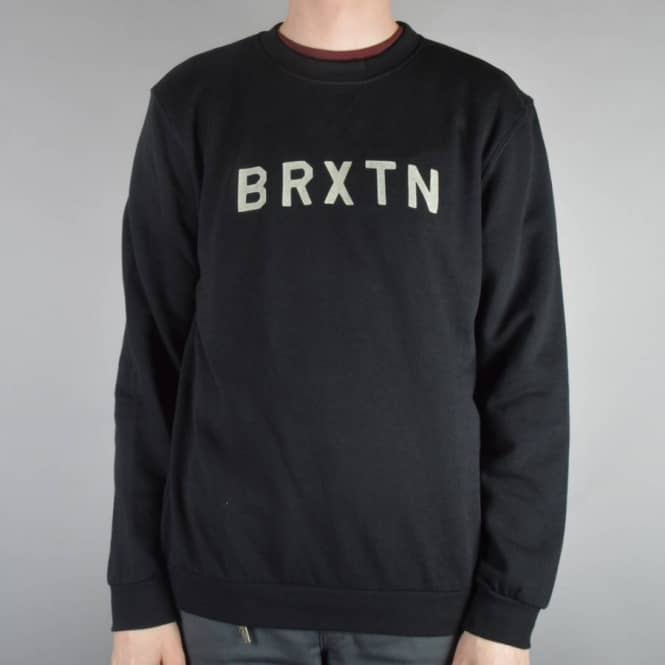 Brixton Murray Crewneck Sweater - Black