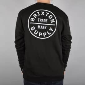 Brixton Oath 2 Crewneck Sweater - Black
