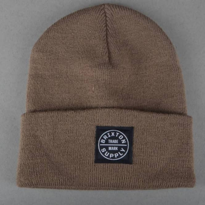 14d38fd6123 Brixton Oath Watch Cap Beanie - Brown - SKATE CLOTHING from Native ...