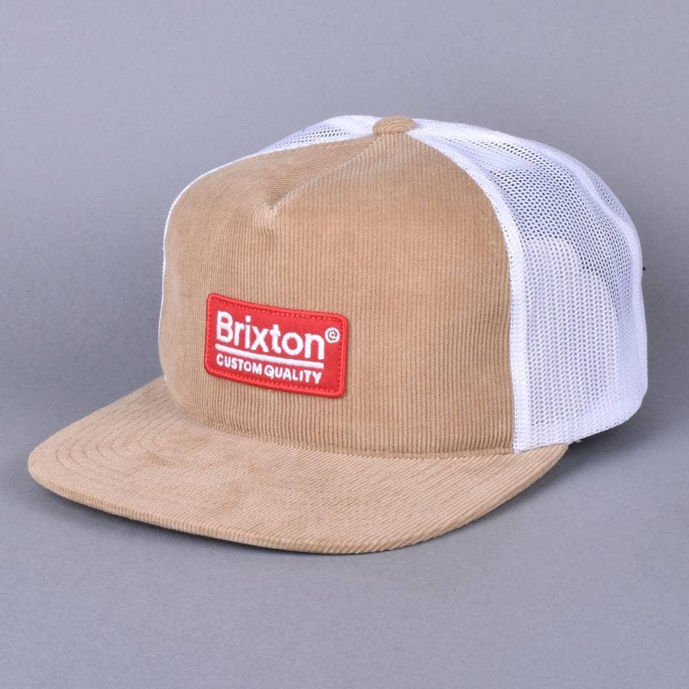 64538af44467c Brixton Palmer Mesh Snapback Cap - Khaki - SKATE CLOTHING from ...