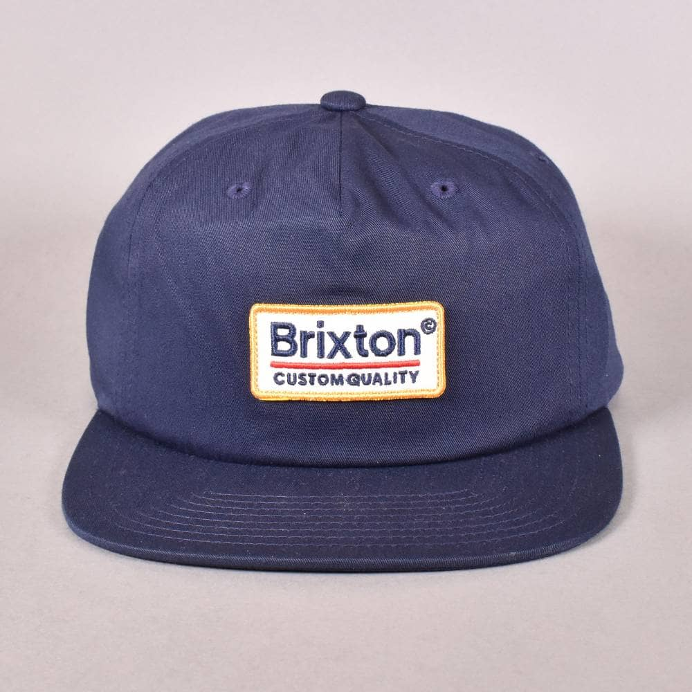 0d8be1c7e0a Brixton Palmer MP Snapback Cap - Navy - SKATE CLOTHING from Native ...