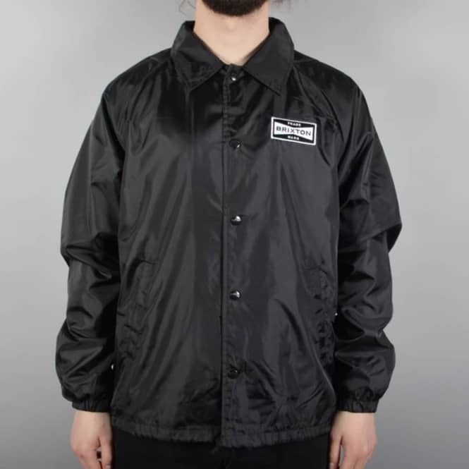 Brixton Ramsey Coach Jacket - Black - SKATE CLOTHING from Native ... 087244c5f93