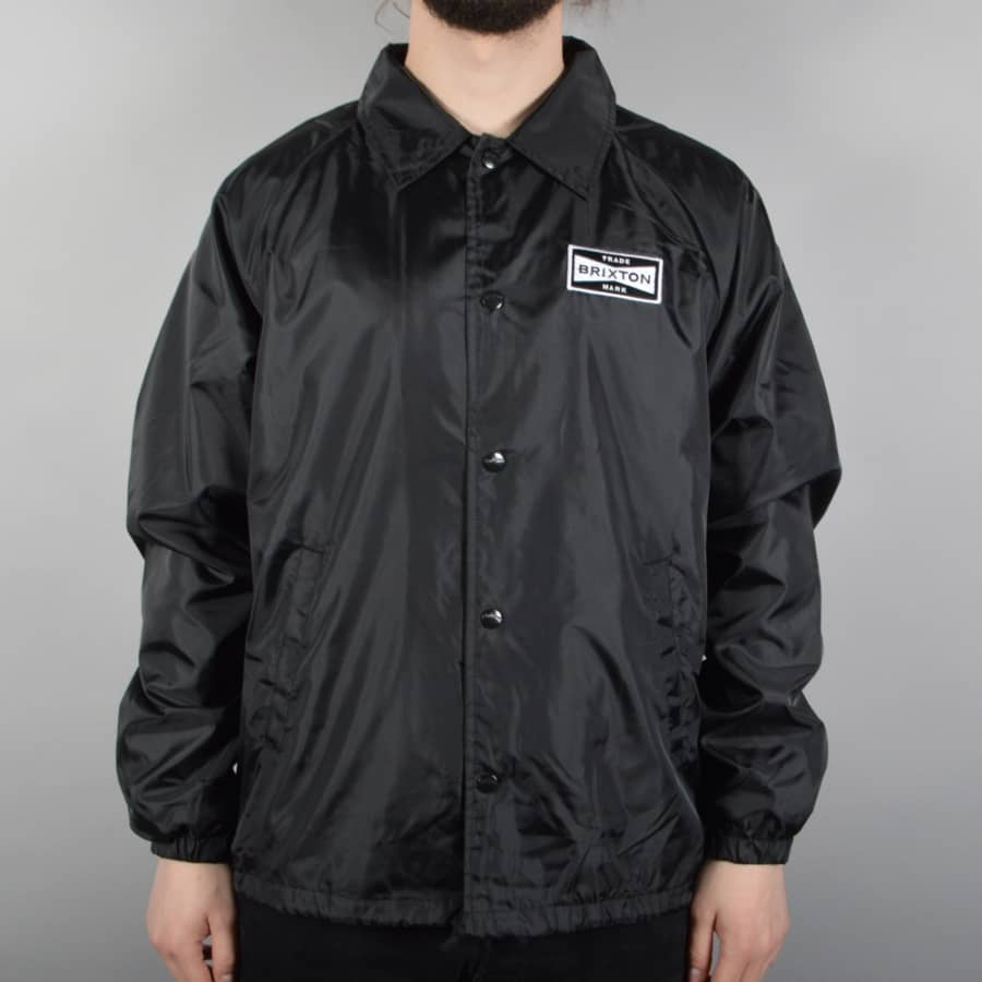 Brixton ramsey coach jacket black brixton from native for Coach jacket