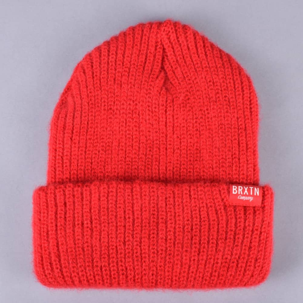 eb01aec631b Brixton Redmond Beanie - Red - SKATE CLOTHING from Native Skate Store UK