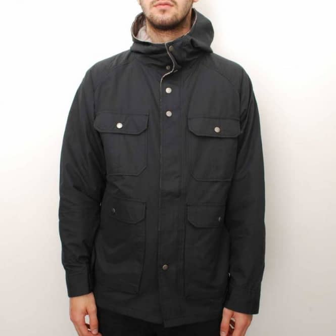Brixton Ridge Jacket - Black - Jackets from Native Skate Store UK fc7cf1c8c9c
