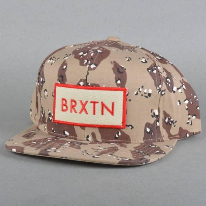 9e890d4b5893a2 Brixton Rift Snapback Cap - Desert Camo - SKATE CLOTHING from Native ...