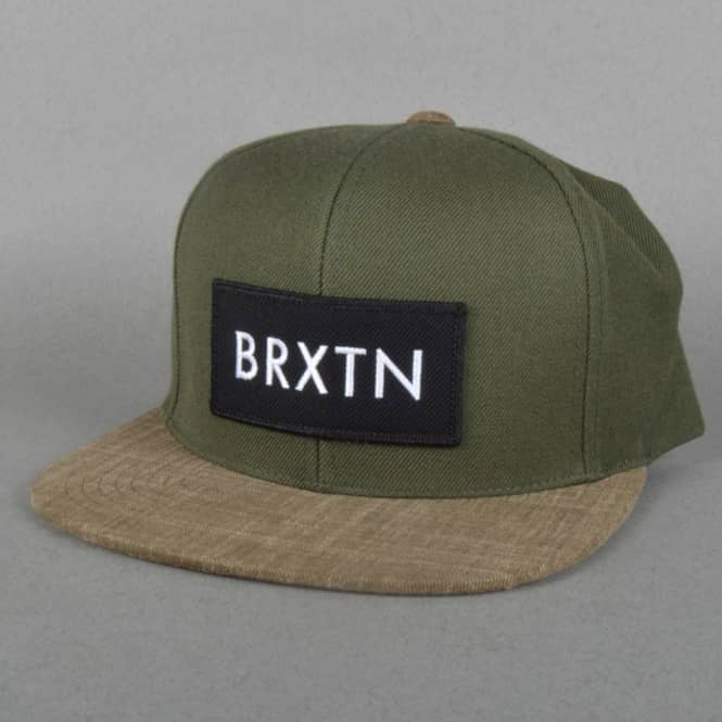a5eb2de591e6 ... closeout rift snapback cap green 0f8ae 3c7f0 spain brixton ltd rival snapback  hat ...