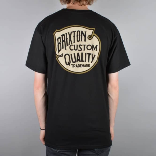 Brixton Roy II T-Shirt - Black