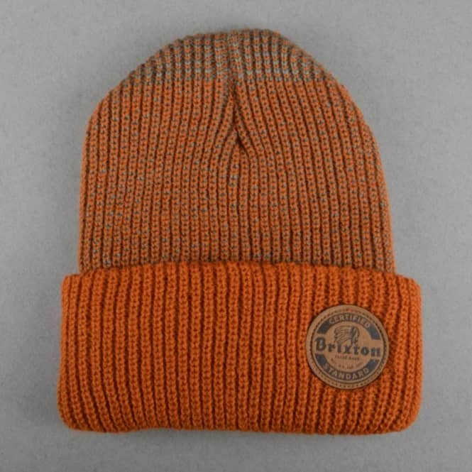 Brixton Soto Beanie - Burnt Orange