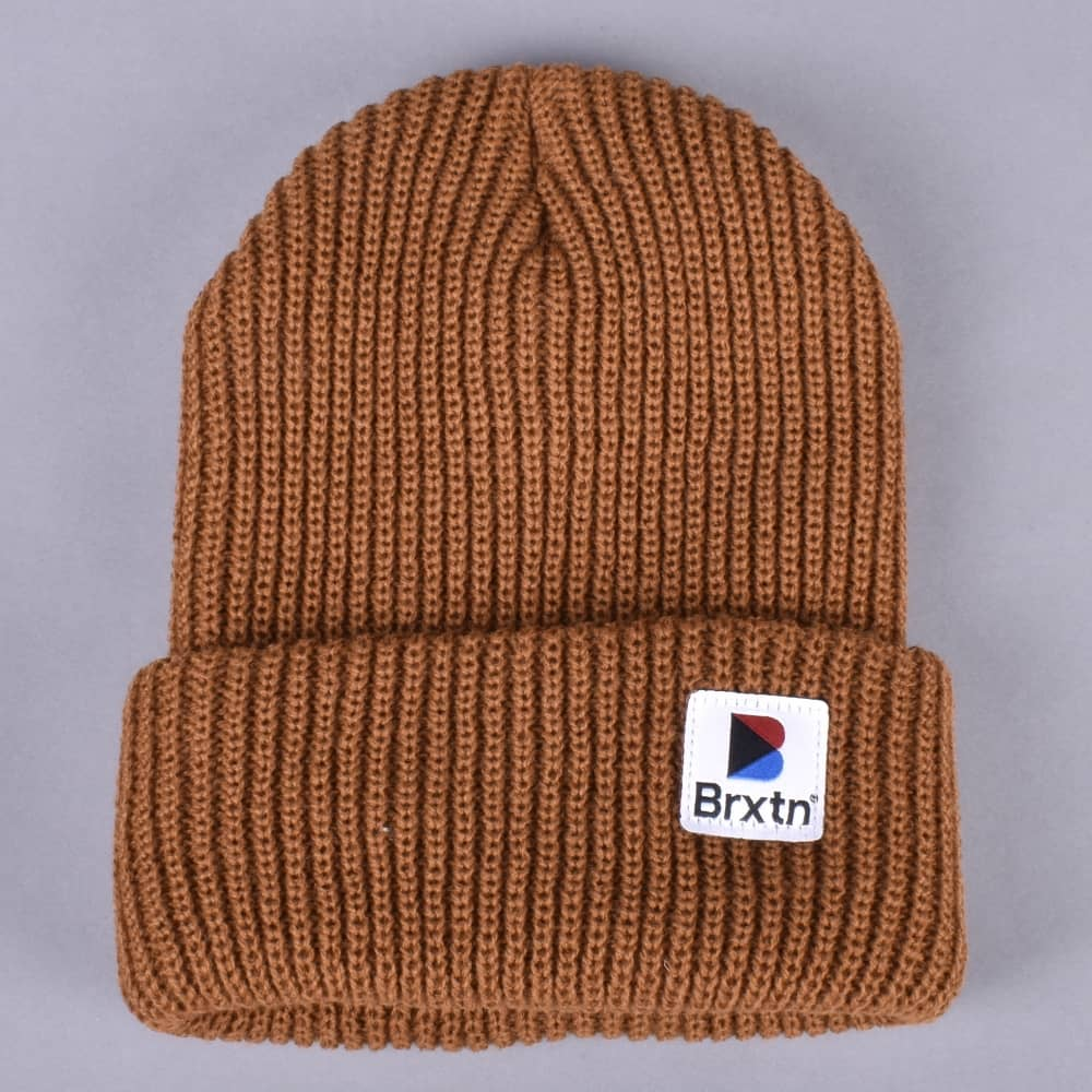 c377cbe4 Brixton Stowell Beanie - Copper - SKATE CLOTHING from Native Skate ...